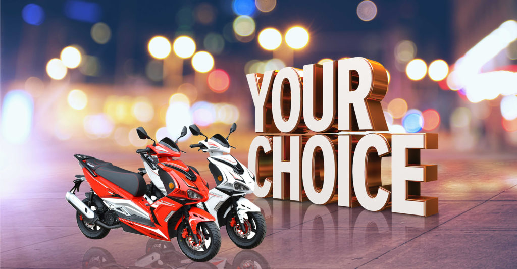 Your Choice gaming promotion header banner